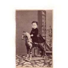 Fotografía antigua: CARTES DE VISITE. ESTUDIO FOTOGRÁFICO. J.GUTIERREZ. MADRID.. Lote 166024334