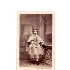 Fotografía antigua: CARTES DE VISITE. ESTUDIO FOTOGRÁFICO. A. ALONSO MARTÍNEZ Y HERMANO. MADRID. Lote 166025190