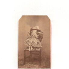Fotografía antigua: CARTES DE VISITE. ESTUDIO FOTOGRÁFICO. F. GERMAIN Y Cº. MADRID.. Lote 166028266