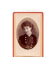 Fotografía antigua: CARTES DE VISITE. ESTUDIO FOTOGRÁFICO. A. BARCIA. SEVILLA. Lote 166029862