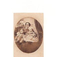 Fotografía antigua: CARTES DE VISITE. ESTUDIO FOTOGRÁFICO. FERNANDEZ. Lote 166031834