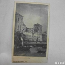 Fotografia antiga: SEVILLA SIGLO XIX FOTOGRAFIA CARTE DE VISITE CDV RAFAEL ROCAFULL CADIZ - PALACIO SAN TELMO CUADRO. Lote 166103874