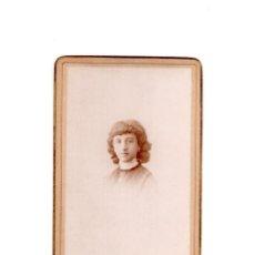 Fotografía antigua: CARTES DE VISITE. ESTUDIO FOTOGRÁFICO. M. ALVIACH. MADRID. Lote 166147070