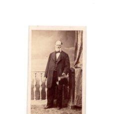 Fotografía antigua: CARTES DE VISITE. ESTUDIO FOTOGRÁFICO. M. DE HERBERT. MADRID.. Lote 166147234