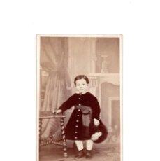 Fotografía antigua: CARTES DE VISITE. ESTUDIO FOTOGRÁFICO. J.MARTINEZ SANCHEZ. MADRID.. Lote 166147610