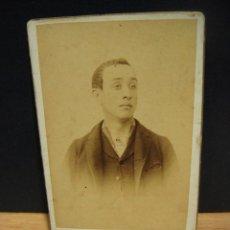 Fotografía antigua: RETRATO DE HOMBRE - ESTUDIO A. COYNE - ZARAGOZA. Lote 167213684