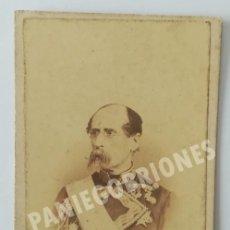 Fotografía antigua: LAURENT - MADRID - JOSÉ LEMERY E IBARROLA MARQUES DE BAROJA POLÍTICO MILITAR PUERTO RICO Y FILIPINAS. Lote 167504348