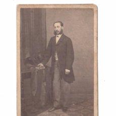 Fotografía antigua: ENRIQUE DAUNER, FOTO: MOLINÉ Y ALBAREDA, BARCELONA. CDV. Lote 169481860