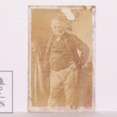 Fotografía antigua: ANTIGUA TARJETA FOTOGRÁFICA - HISTORIADOR Y POLÍTICO FRANCÉS LOUIS ADOLPHE THIERS - SIGLO XIX. Lote 170057520