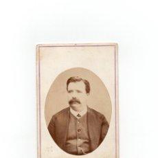 Fotografía antigua: CARTES DE VISITE. ESTUDIO FOTOGRÁFICO. M.G.YZQUIERDO. MADRID.. Lote 170982972
