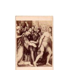 Fotografía antigua: CARTES DE VISITE. ESTUDIO FOTOGRÁFICO. J. LAURENT. MADRID. ESCENA RELIGIOSA.. Lote 171110737