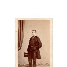 Fotografía antigua: CARTES DE VISITE. ESTUDIO FOTOGRÁFICO. J. LAURENT. MADRID.. Lote 171607678