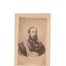 Fotografía antigua: CARTES DE VISITE. FERNANDO MAXIMILIANO JOSÉ MARÍA DE HABSBURGO-LORENA. MAXIMILIANO I DE MÉXICO.. Lote 171687763