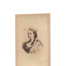 Fotografía antigua: EMPERATRIZ CONSORTE DE MÉXICO. MARÍA CARLOTA AMELIA AUGUSTA VICTORIA.. Lote 171688255