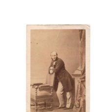 Fotografía antigua: CARTES DE VISITE. ESTUDIO FOTOGRÁFICO. MULNIER. PARIS. Lote 171689523