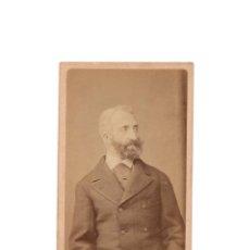Fotografía antigua: CARTES DE VISITE. MONARQUIA. LOUIS D'ORLÉANS DUC DE NEMOURS. Lote 171690452