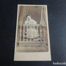 Fotografía antigua: MURCIA MUJER HUERTANA CARTE VISITE H 1865 SIN FOTOGRAFO. Lote 171881880