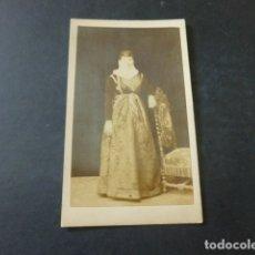 Fotografía antigua: ARGELIA CARTE VISITE MUJER TIPOS ARGELINOS C. `PORTIER FOTOGRAFIA. Lote 172092935