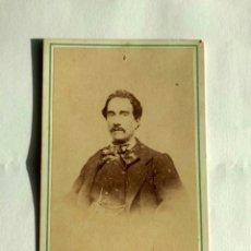 Fotografía antigua: FOTOGRAFÍA, CARTA DE VISITA. J. PALMEIRO E HIJOS. SANTIAGO DE COMPOSTELA, LA CORUÑA, FF. S. XIX.. Lote 172178328