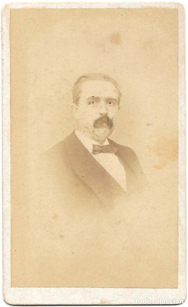 1878 CA FOTOGRAFÍA ALBUMINA CDV CARTE DE VISITE TOLEDO SOBRINOS MADRID (Fotografía Antigua - Cartes de Visite)