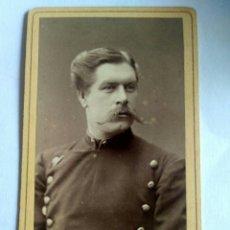 Fotografía antigua: FOTOGRAFÍA, CARTA DE VISITA. MATHS HANSEN. STOCKHOLM. SUECIA, FF. S. XIX.. Lote 174467042