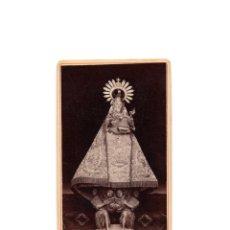 Fotografía antigua: CARTES DE VISITE. ESTUDIO FOTOGRÁFICO. PEREZ SIERRA. LLANES.(ASTURIAS). VIRGEN CON NIÑO.. Lote 175299353