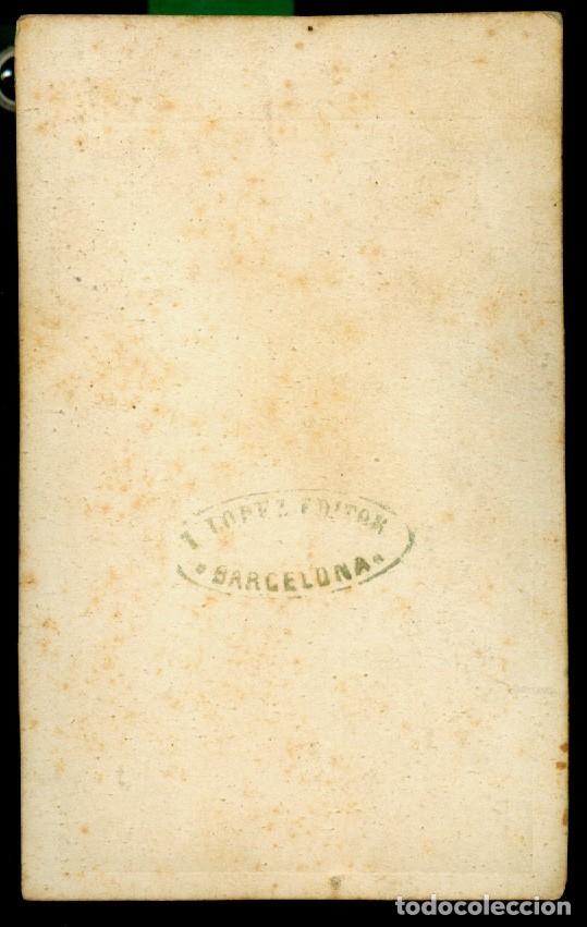 Fotografía antigua: Juan Bautista Topete y Carballo - VICEALMIRANTE - 1870 - Foto 2 - 175765024