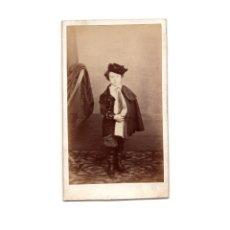 Fotografía antigua: CARTES DE VISITE. ESTUDIO FOTOGRÁFICO. DESCONOCIDO. JOSE HUGO BUSTAMANTE. Lote 175810475