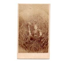 Fotografía antigua: CARTES DE VISITE. ESTUDIO FOTOGRÁFICO. W. WORT. Lote 175810739
