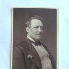 Fotografía antigua: FOTOGRAFÍA, CARTA DE VISITA. FÍGARO. LONDRES S. XIX. Lote 177043850