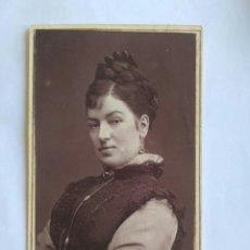 Fotografía antigua: FOTOGRAFÍA, CARTA DE VISITA. FÍGARO. LONDRES, S. XIX.. Lote 177044248