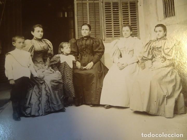 Fotografía antigua: LOTE DE 3 FOTOS VARIADAS DE ÉPOCA , CDV, POSTAL, ESTUDIO , VER FOTOS - Foto 2 - 178403200