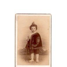 Fotografía antigua: CARTES DE VISITE. ESTUDIO FOTOGRÁFICO. CARRASCOSA. MADRID.. Lote 178561617