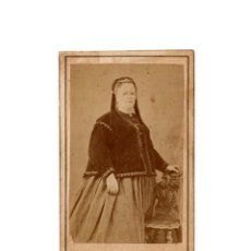Fotografía antigua: CARTES DE VISITE. ESTUDIO FOTOGRÁFICO. RAFAEL MARTÍN AREÑAS. BARCELONA.. Lote 182224940