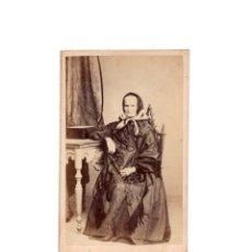 Fotografía antigua: CARTES DE VISITE. ESTUDIO FOTOGRÁFICO. JOAQUIN MASAGUER. GERONA.. Lote 182225151