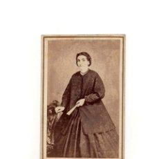 Fotografía antigua: CARTES DE VISITE. ESTUDIO FOTOGRÁFICO. RAMÓN MASAGUER. GERONA.. Lote 182226223
