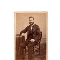 Fotografía antigua: CARTES DE VISITE. ESTUDIO FOTOGRÁFICO. MR. HOSTENC.BARCELONA.. Lote 182255890