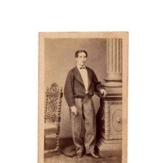 Fotografía antigua: CARTES DE VISITE. ESTUDIO FOTOGRÁFICO. L. ROVIRA. BARCELONA.. Lote 182256793