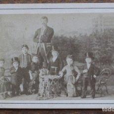 Fotografía antigua: CURIOSA ANTIGUA FOTOGRAFÍA- ATELIER VOITLÄNDER - WIEN HÜTTELDORF- ESCRITO PARTE TRASERA. Lote 182383966