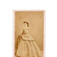 Fotografía antigua: CARTES DE VISITE. ESTUDIO FOTOGRÁFICO. JUAN MARTI. BARCELONA.. Lote 182484400