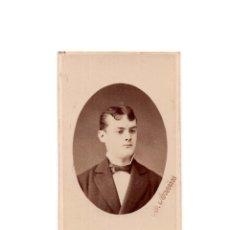 Fotografía antigua: CARTES DE VISITE. ESTUDIO FOTOGRÁFICO. RAFAEL MARTÍN AREÑAS. BARCELONA.. Lote 182517202