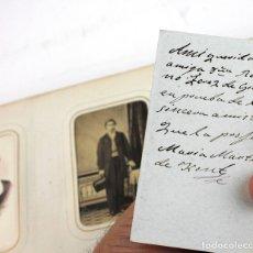 Fotografía antigua: FAMILIA JOAN GIRONA AGRAFEL (1807-1871) ÁLBUM CDV CON 195 FOTOGRAFÍAS DE LA FAMILIA DEL INDUSTRIAL . Lote 182991421