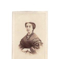Fotografía antigua: CARTES DE VISITE. ESTUDIO FOTOGRÁFICO. A. ALONSO MARTÍNEZ Y HERMANO. MADRID. Lote 183514750