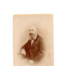 Fotografía antigua: CARTES DE VISITE. ESTUDIO FOTOGRÁFICO. F. MANFI. BARCELONA. Lote 183518277