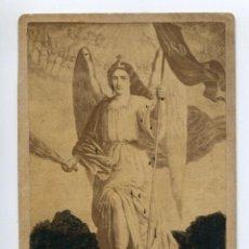 Fotografía antigua: EL ARCÁNGEL SAN MIGUEL, MÉXICO, 1885, PARROQUIA DEL ARCÁNGEL SAN MIGUEL CON PETICIÓN DE DONATIVO. Lote 183542185