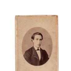 Fotografia antica: CARTES DE VISITE. ESTUDIO FOTOGRÁFICO. MOLINE Y ALBAREDA. BARCELONA. . Lote 183656722