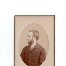 Fotografia antica: CARTES DE VISITE. ESTUDIO FOTOGRÁFICO FERNANDO DEBAS. MADRID.. Lote 183658620