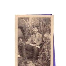 Fotografía antigua: CARTES DE VISITE. ESTUDIO FOTOGRÁFICO DESCONOCIDO.. Lote 183816950