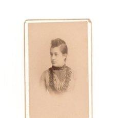 Fotografía antigua: CARTES DE VISITE. ESTUDIO FOTOGRÁFICO. ALMAYSO. MADRID.. Lote 183817212