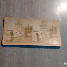 Fotografía antigua: FOTO PALACE OF THE TUILERIES.PARIS -. Lote 184095328